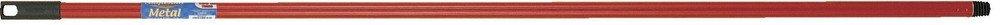 Manico Metal in metallo plastificato coordinato rosso 130 cm La Briantina Spa