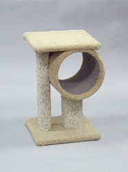 North American Pet CNO49550 Tunnel Tower Cat Furniture, My Pet Supplies