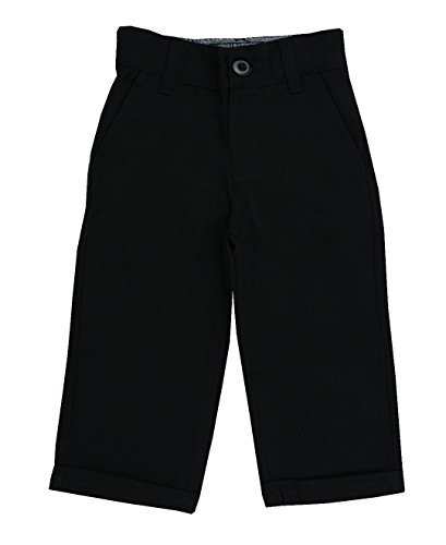 RuggedButts Baby/Toddler Boys Toddler Black Dress Pants - 12-18m ()