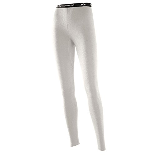 ColdPruf Women's Authentic Dual Layer Bottom, Winter White, X-Large