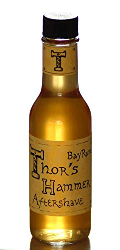 - Bay Rum Aftershave | Viking Aftershave | Thor's Hammer Classic Bay Rum Spice | All Natural