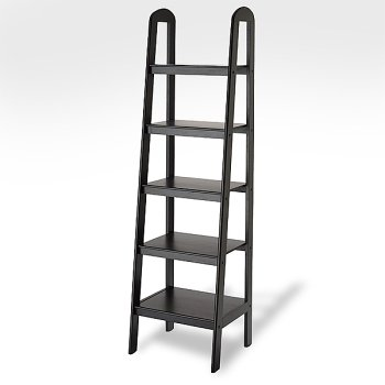 Madison Loop Ladder Bookshelf 45 Antique Black