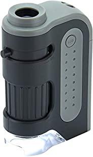 Carson Micro Brite Plus 6X-12X LED Lighted Pocket Microscope