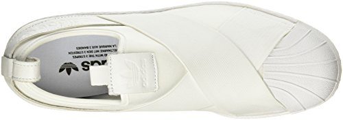 Slipon Superstar Uomo Adidas, Bianco, 5,5 M Us