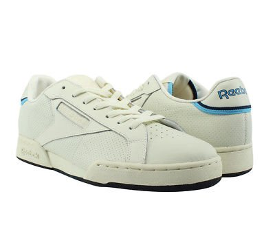 Reebok Npc Uk Ii Thof Chalk / White / Blue / Navy / Brs Walking Heren Sportschoenen Maat 9 Nieuw