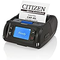 Citizen America CMP-40LBTIU CMP-40 Mobile PRINTER, 4 Print width, Ios/Android, Bluetooth/USB