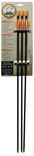 Bear Archery Youth Safetyglass Arrows (3 Per Card)