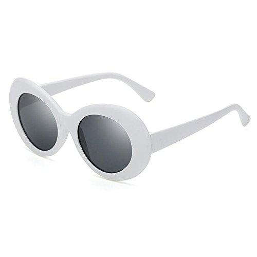 de libre al Hombres gato Sol moda Blanco Para anteojos Hzjundasi Cadena Gafas aire Gafas Antideslizante Gafas de Gafas sol de Vintage Mujeres de de Ojo 5RTSwZq