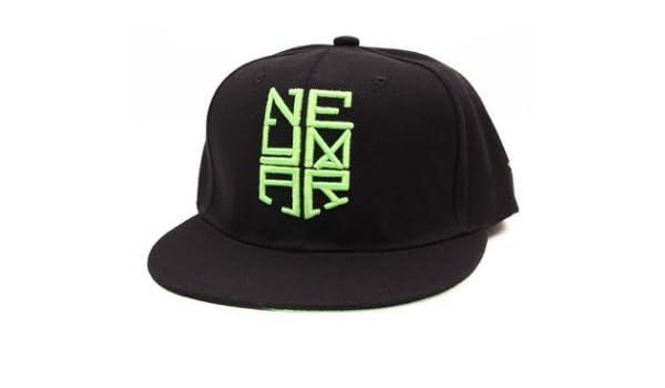 Amazon.com: Neymar JR Snapback Cap Njr Hat Hip Hop Sports Brazil Baseball Gorras Planas(A): Sports & Outdoors