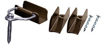 CRL Bronze Window Screen Hardware Kit for 7/16'' Frame - Bulk Package