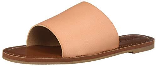 Roxy Women's Kaia Slip Slide Flat Sandal, Blush 6 M US (Roxy Skate Shoes)
