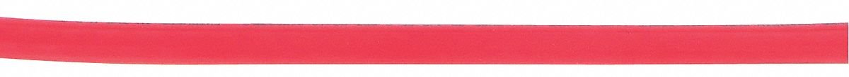 Parker Air Brake Tubing 1/4 in OD Red by PARKER
