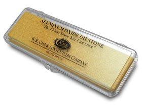 CASE XX Aluminum Oxide Oilstone Pocket Knife Knives Sharpening Stone