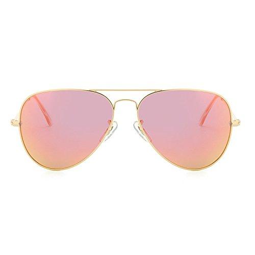 pour Lunettes Marque de Golden polarisées Soleil Polarizado Designer de Vue JCH Classiques Femmes Aviador ovales Oculos orange Hommes Lunettes wO8XqX