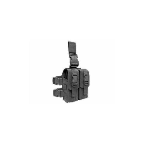 Pouch Mag Rifle - Condor Drop Leg Mag Pouch - Black