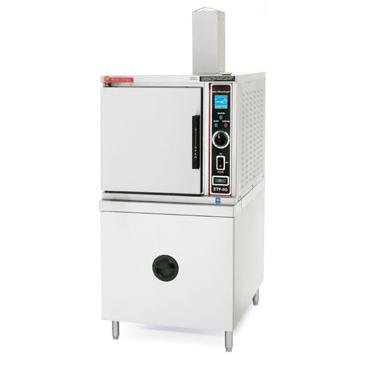Market Forge Industries ETP-5G Convection Steamer Freestanding Electric One Compartment 5 Pan Boilerless Eco-Tech Plus Series