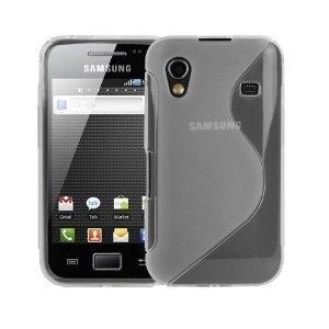 [A4E] Coque transparente pour Samsung Galaxy ACE S5830 TPU S-Line