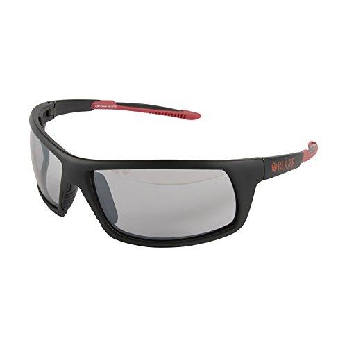 Ruger Crux Ballistic Shooting Glasses, Mirror Smoke
