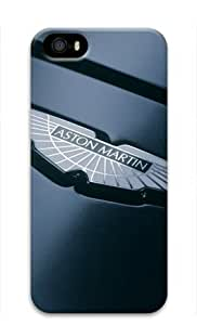 Aston Martin Car Logo Iphone 5/5S Hard Protective 3D Case by eeMuse