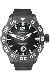 Nautica BFD 100 Black Dial Men's watch #N20095G