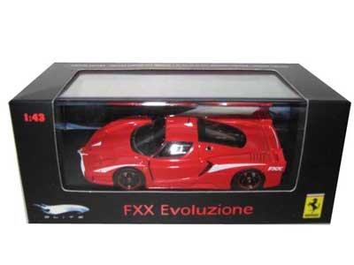 te Evoluzione Red Ltd 1/43 Diecast (Ferrari Enzo Fxx)