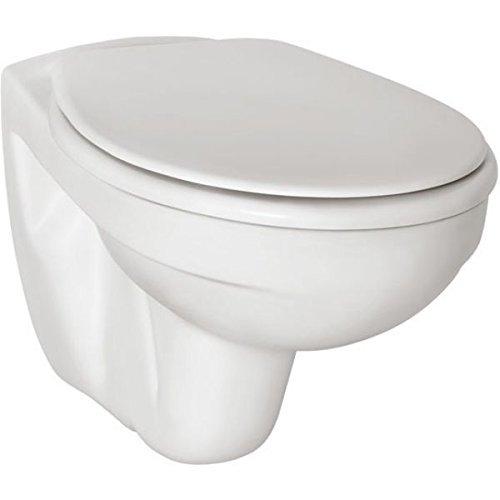Concept 100 Wand WC weiss Tiefspüler: Amazon.de: Baumarkt