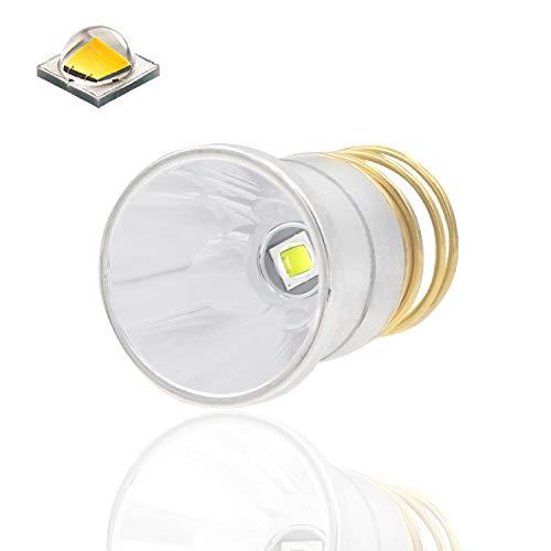 Ultra Bright XM-L2 LED Bulb 1200 Lumens Drop-in P60 Design Module,Single Mode Flashlight Repair Replacement LED Bulb For Surefire Hugsby C2 G2 Z2 6P 9P G3 S3 D2 Ultrafire 501B 502B (1 pack) (6p 9p Flashlight)
