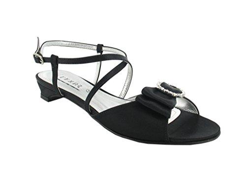 LEXUS - Sandalias de vestir para mujer Negro - negro