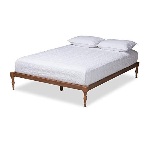 Baxton Studio Iseline Queen Size Platform Bed Frame
