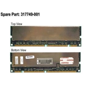 Hp-Compaq 256Mb 100Mhz Pc-100 168-Pin Ecc Registered Sdram Dimm Memor (Ecc Pc100 Registered Pin 168)
