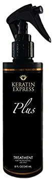 Keratin Express Plus 8 fl oz Smoothing Treatment Professional Hair Treatment up to 12 weeks. Do not use it on Pregnant Women, Children and Nursing. This product contains Formaldehyde.
