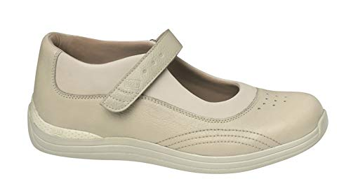 (Drew Shoe Women's Rose Mary Jane,Bone Soft Pebbled,10 M US)