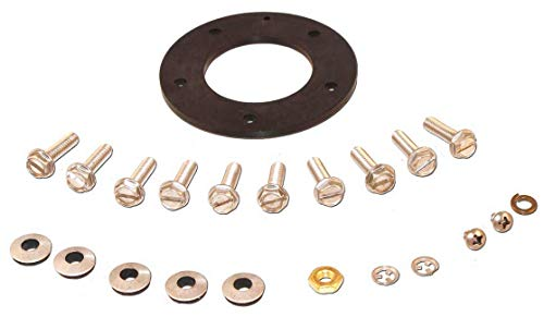 Moeller Marine 035728-10, Gasket for Fuel Tank Sending Unit, 5 Hole, Electric and Mechanical (Sending Unit Moeller)