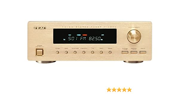 Amazon com: Teac Reference T-H500 AM/FM Stereo Tuner