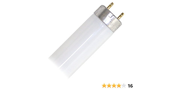 Lot of 24 GE 12443 F24T12//SP41 Cool White Fluorescent Tube Lamp Light Bulb 24W