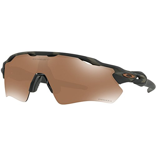 Oakley Men's Radar Ev Path Non-Polarized Iridium Rectangular Sunglasses, Olive Camo, 0 - Camo Oakley