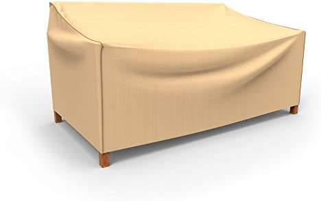 EmpirePatio Select Tan Outdoor Patio Sofa Cover, Medium