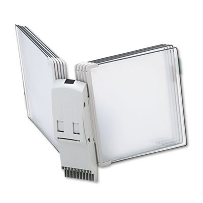 Modular Reference Display Extension Unit, 10 Wire-Reinforced Pockets