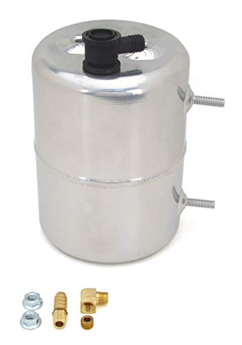 Competition Cams 5201 Vacuum Canister, Zinc Plated and Polished (Vacuum Reserve Canister)
