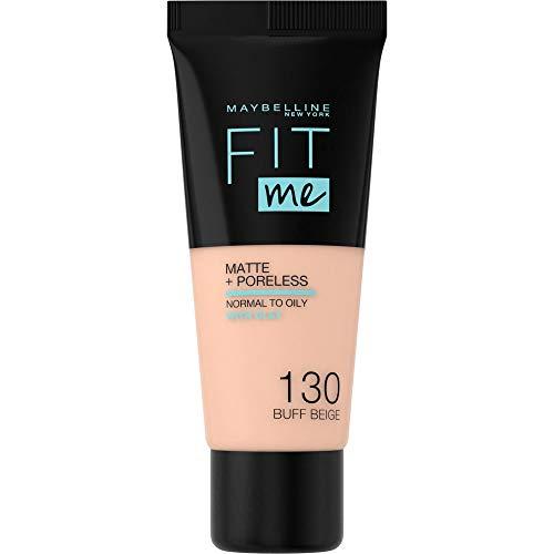 Maybelline New York Fit Me Matte & Poreless Foundation 130 Buff Beige 30ml