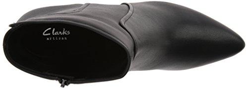 Black Boot Clarks Women's Aria Sage Leather xwO4IRTq