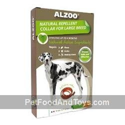 ALZOO Natural Repellent Flea & Tick Dog Collar (Large/Extra Large)