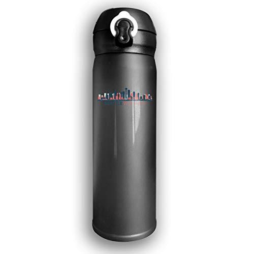 - Qiop Nee Insulated Vacuum 17oz Stainless Steel Water Mug Seattle Washington for Travel