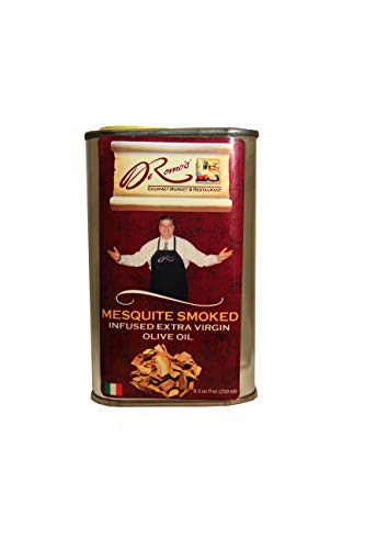 DeRomo's Mesquite Smoke Infused Extra Virgin Olive Oil