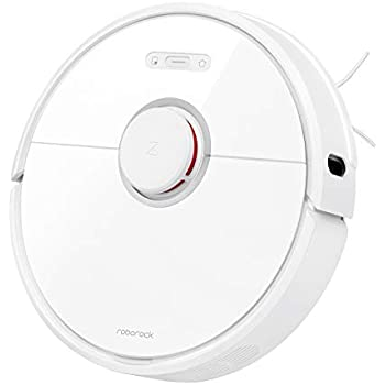 Roborock S6 Robot Vacuum, Robotic Vacuum Cleaner and Mop with Adaptive Routing, Selective Room Cleaning, Super Strong Suction, and Extra Long Battery ...
