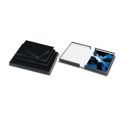 Black Clamshell Portfolio - Print File Black Clamshell Portfolio Print Box 11.25