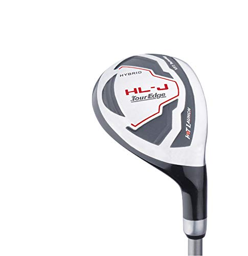 Tour Edge HL-J Junior Complete Golf Set with Bag (Right Hand, Graphite, 1 Putter, 3 Irons, 1 Hybrid, 1 Fairway, 1 Driver 9-12) Red by Tour Edge (Image #5)