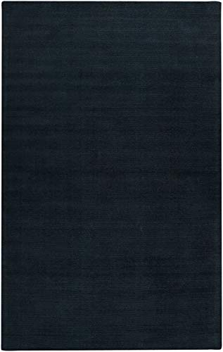 Charcoal Mystique Rug (Surya M-340 Mystique Solids and Borders Rectangle Charcoal 8' x 11' Area Rug)