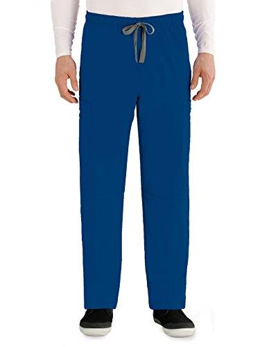 Grey's Anatomy 0212 Men's Draw Tie Pant Twilight XS Tall ()