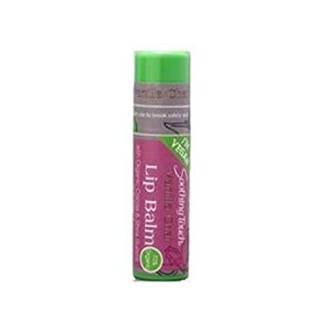 Soothing Touch - Vegan Lip Balm Pomegranate - 0.25 oz. (pack of 3) Anise and Hyssop Combination Cream (2 oz, ZIN: 513062) - 2-Pack